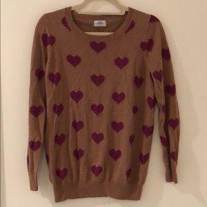 Madewell Heart Pattern Sweater